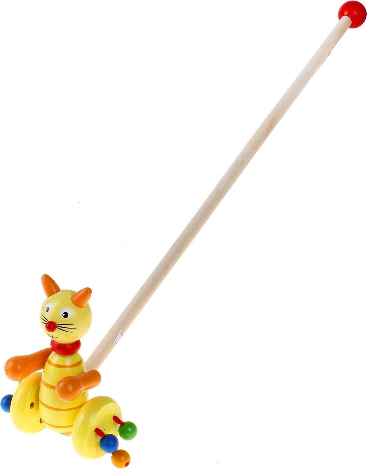Sima-land Игрушка-каталка Кошка 273460 каталки игрушки mertens каталка обезьянка