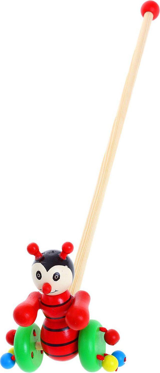 Sima-land Игрушка-каталка Божья коровка 273464 каталки игрушки mertens каталка обезьянка