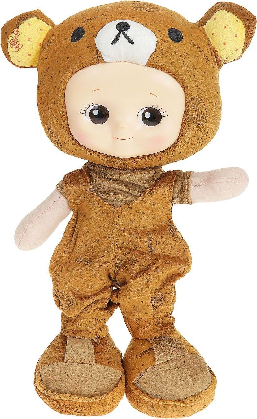 Sima-land Мягкая кукла Мишутка в ботинках 318895 sima land мягкая кукла оля с держателем и полотенцем цвет желтый
