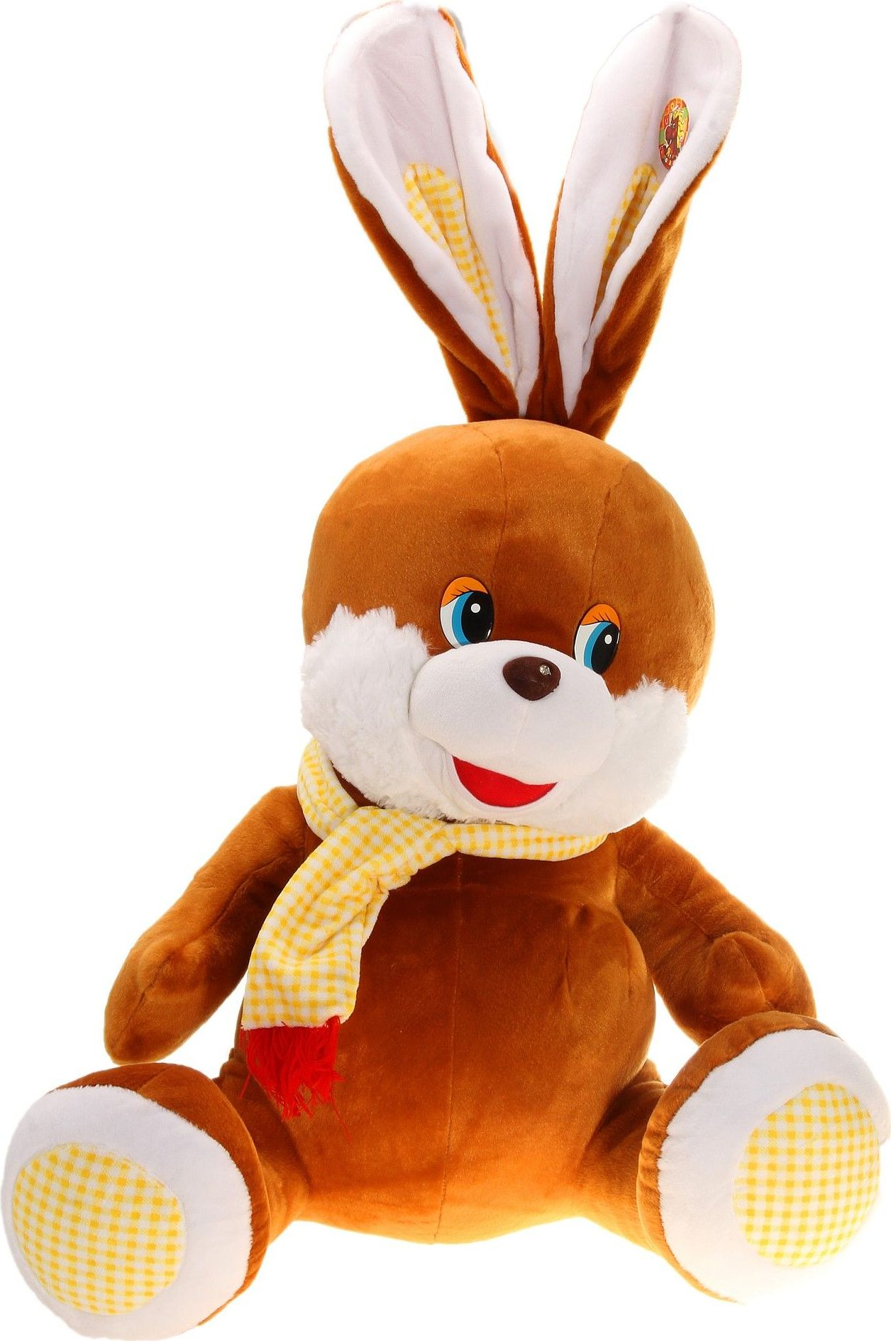 Sima-land Мягкая игрушка Заяц в шарфике в клетку 326419 sima land мягкая игрушка на руку мальчик 1147835
