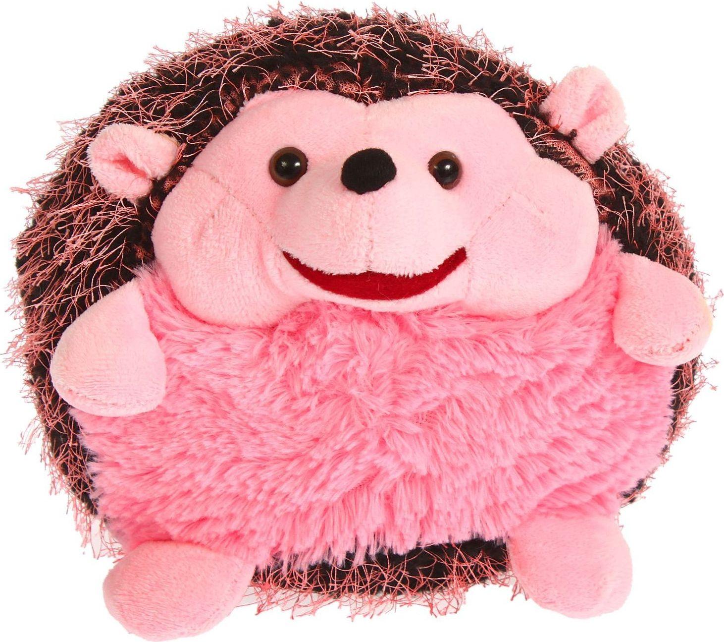 Orange Toys Мягкая игрушка Ежик Иголка цвет розовый 328494 toys block