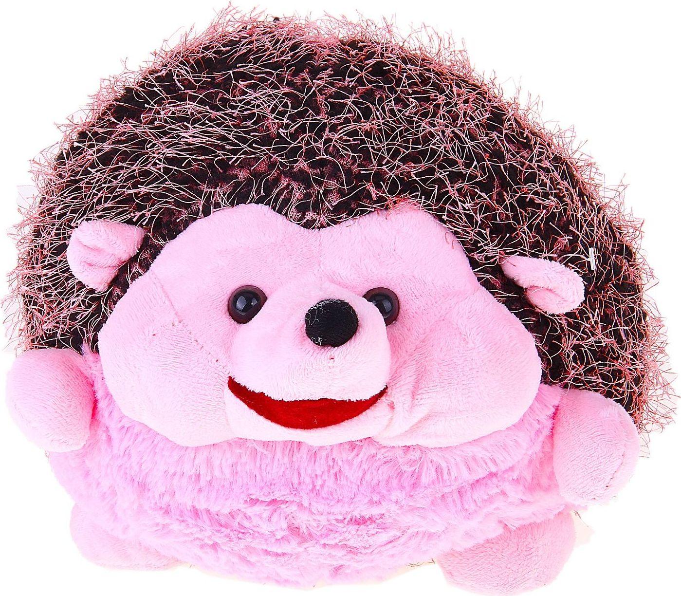 Orange Toys Мягкая игрушка Ежик Иголка цвет розовый 328498 toys block