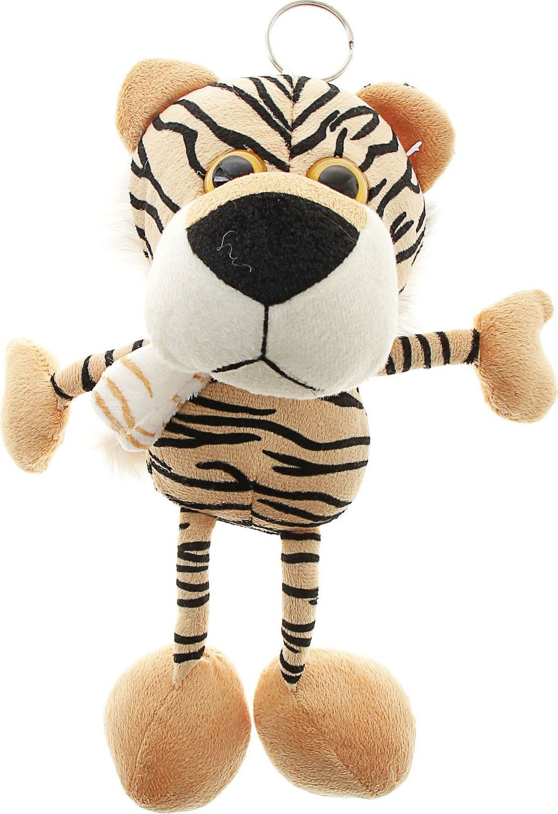 Sima-land Мягкая озвученная игрушка Тигренок в шарфике sima land мягкая игрушка на руку мальчик 1147835