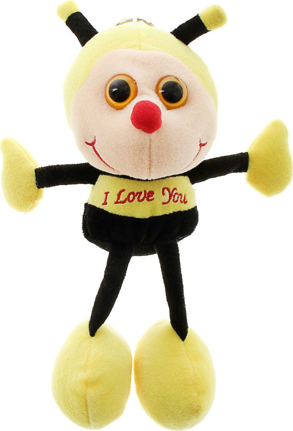 Sima-land Мягкая игрушка Пчелка с вышивкой на груди sima land мягкая игрушка на руку мальчик 1147835