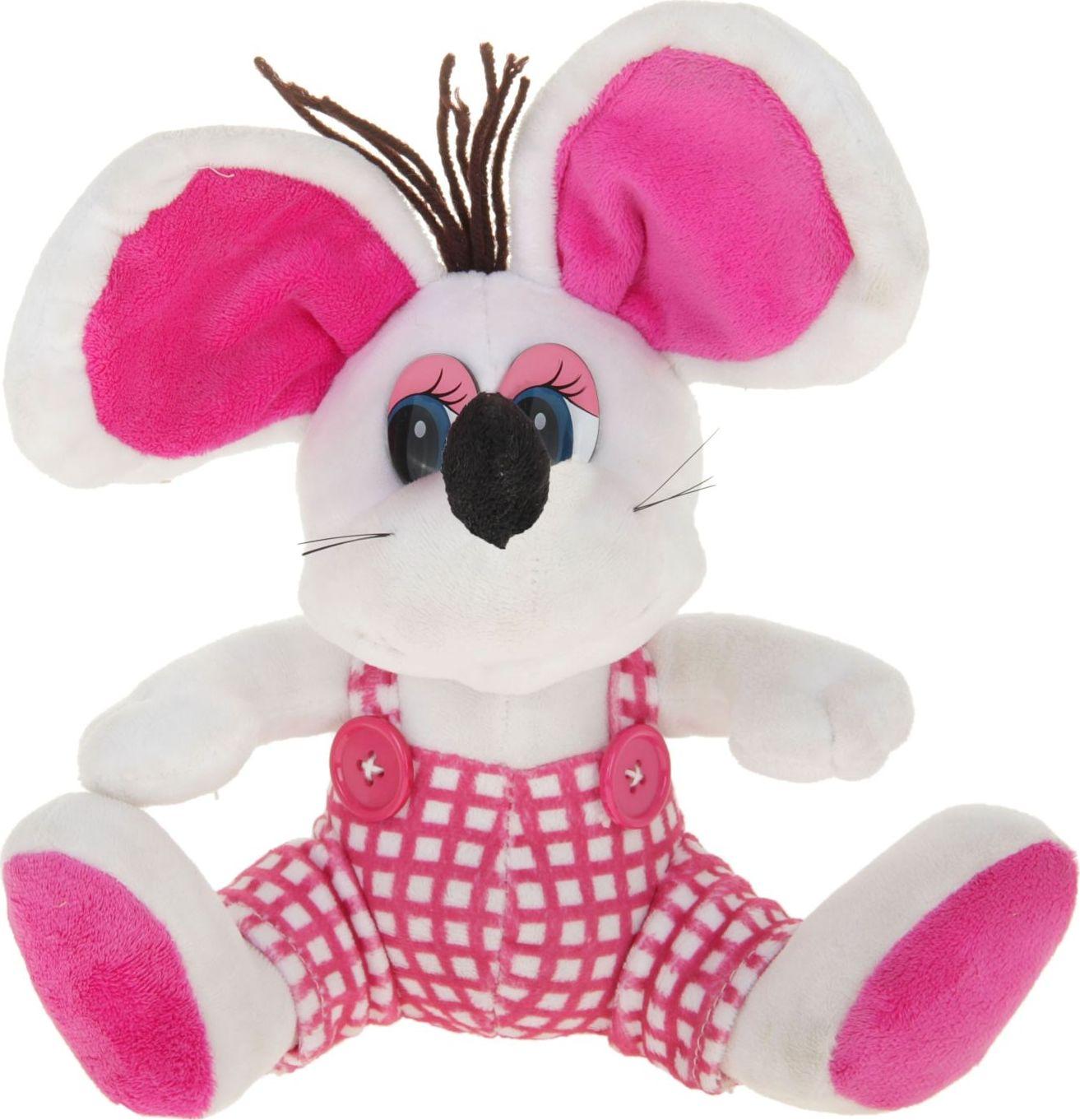 Sima-land Мягкая игрушка Мышка в штанишках 330506 sima land мягкая игрушка на руку мальчик 1147835