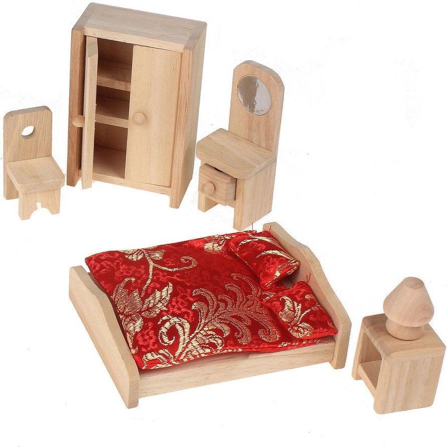 Sima-land Мебель для кукол Спальня 452176 замочек свадебный sima land вместе навсегда 7 х 3 8 х 0 5 см