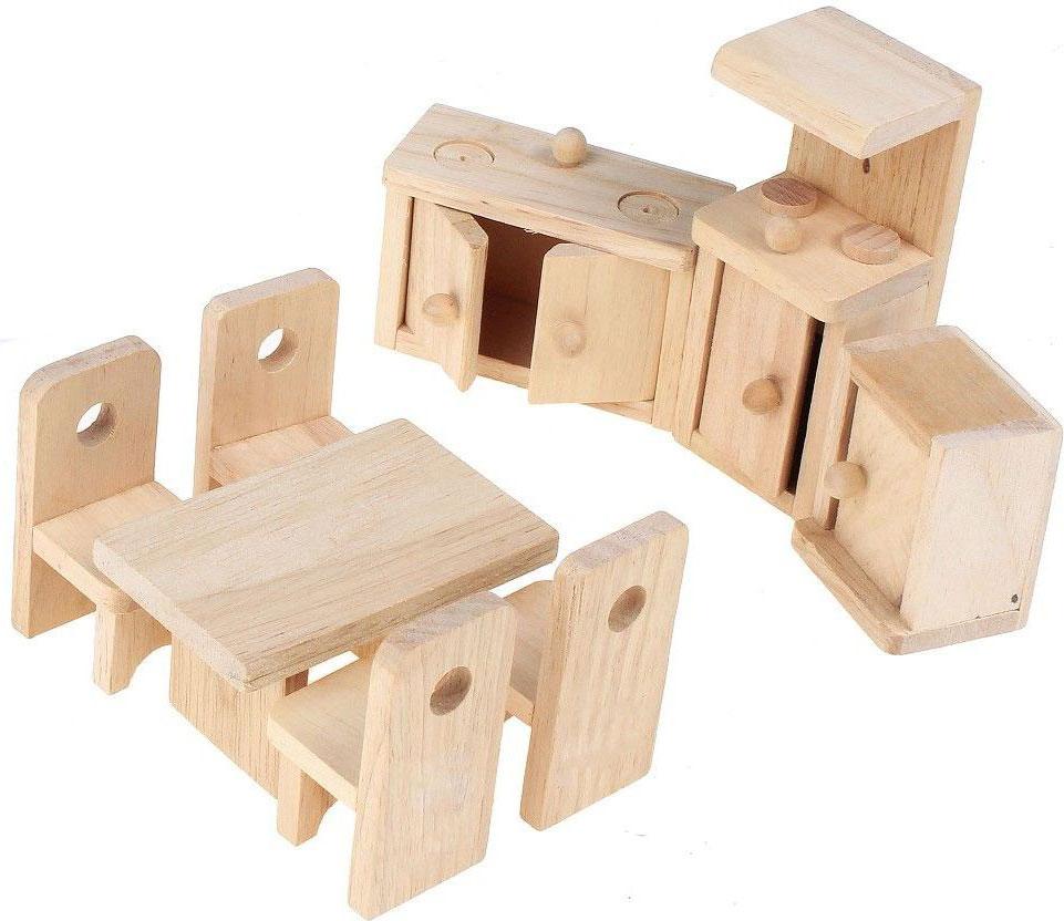 Sima-land Мебель для кукол Кухня 452179 3 стула интернет магазин мебели