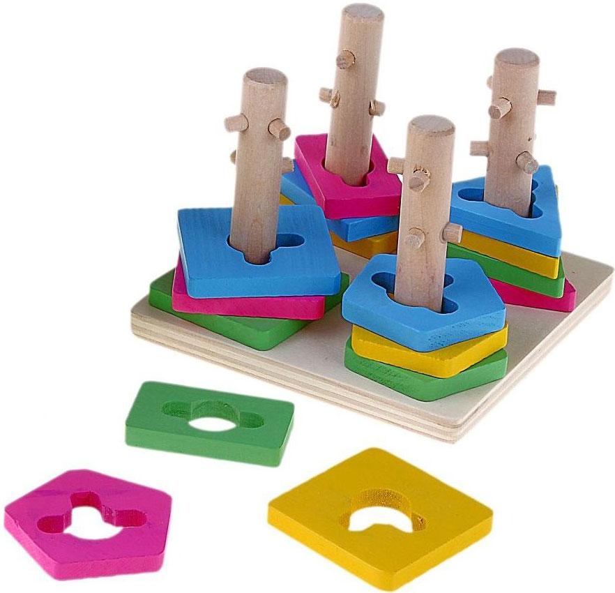 Пирамидка Sima-land. 495084 головоломка mefferts m5822 пирамидка дуэль