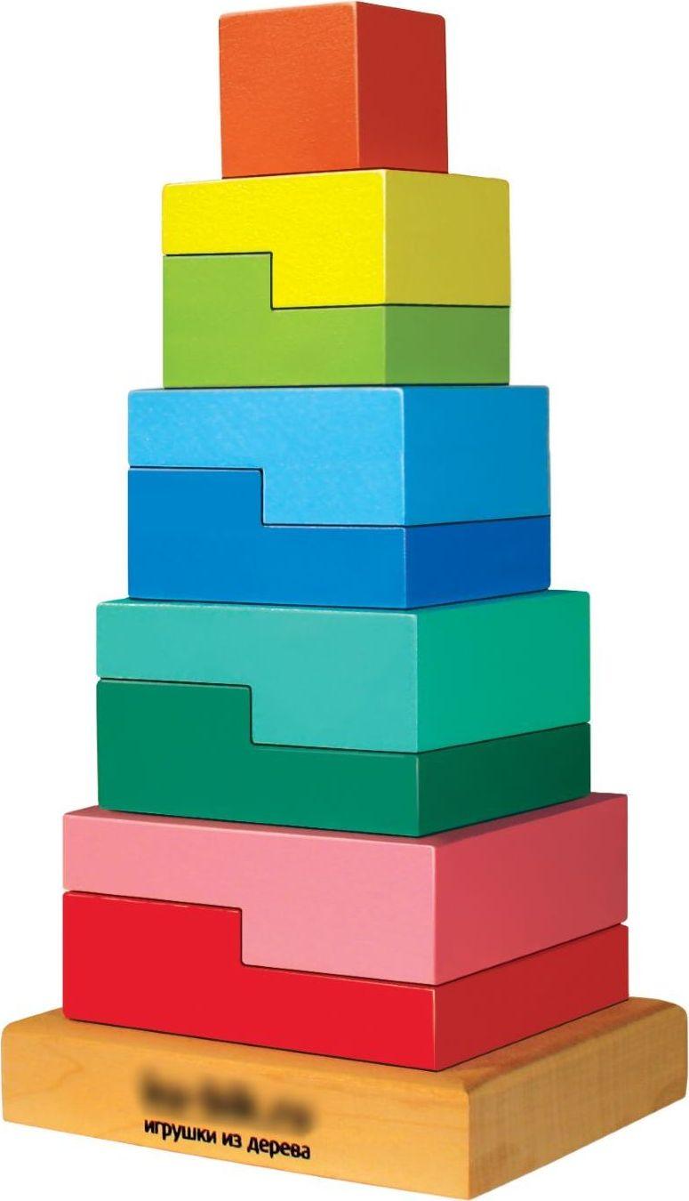 Sima-land Пирамидка Ступеньки 10 деталей 636532 пирамидка ступеньки 9 дет