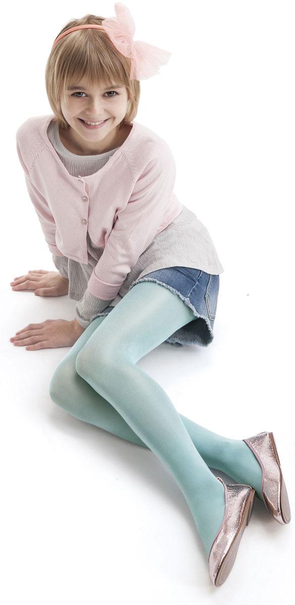 Колготки для девочки Knittex, цвет: мятный. DIVERSE JUNIOR. Размер 116/122DIVERSE JUNIORОднотонные колготки Knittexсо изготовлены из полиамида и эластана, которые обладают свойством эластичности. Модель имеет широкую эластичную резинку на поясе. Колготки равномерно облегают ножки, не сдавливая и не стесняя движения ребенка.