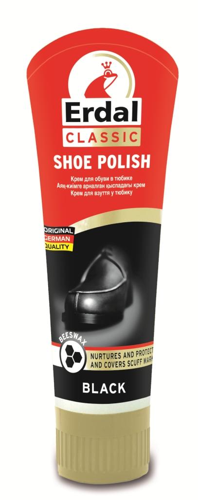 """Крем для обуви """"Erdal"""", цвет: черный, 60 г"""