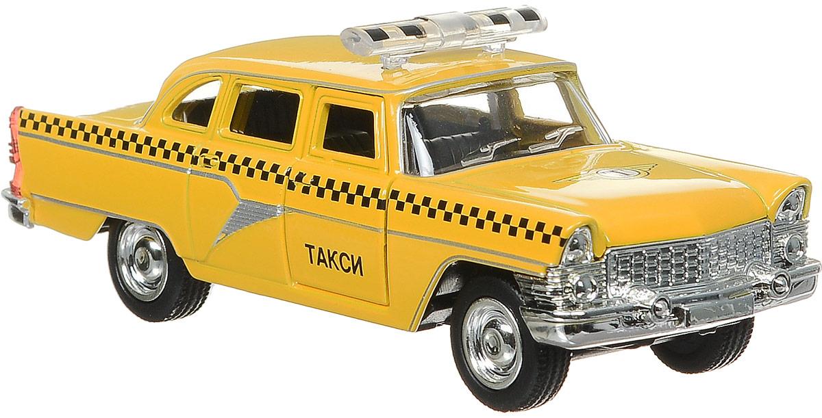 ТехноПарк Городское такси ГАЗ-13 Чайка игрушка технопарк зил 130 ct11 309 1