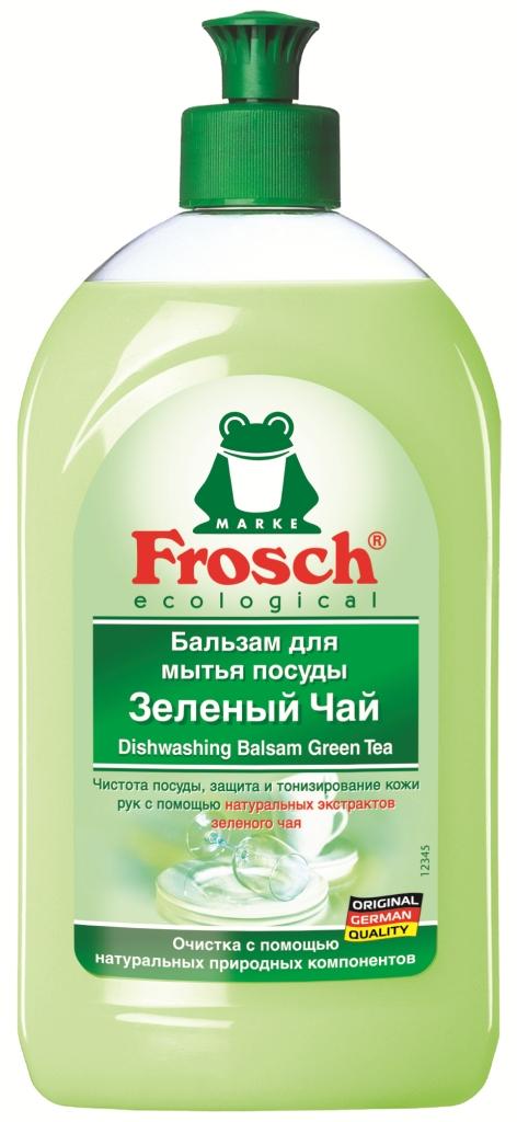 Бальзам для мытья посуды Frosch, аромат зеленого чая, 0,5 л712916Средство для мытья посуды от Frosch - это чистота посуды, защита и тонизирование кожи рук с помощью натуральных экстрактов зеленого чая. Подходит для любого вида посуды. Особенности природного качества:Формула Зеленой Силы с натуральными ингредиентами, подчеркивающими качество очистки и ухода.С ПАВ возобновляемого растительного происхождения, с высоким и быстрым биологическим расщеплением.Безопасные для кожи формулы, протестированные дерматологами. Минимальное использование мягких консервантов и тщательно отобранных ароматизаторов или полный отказ от них.Отсутствие опасных химикатов, таких как фосфаты, бораты, формальдегиды, галогенорганические компоненты, ПВХ.Сниженная нагрузка на окружающую среду благодаря сокращению использования упаковочных материалов. Прогрессивное использование переработанных и перерабатываемых материалов.Не тестируется на животных.Экологически безопасное и энергосберегающее производство на производственных участках с системой экологического менеджмента, получившего сертификат.Собственная станция для очистки сточных вод.Более 25 лет опыта в производстве экологически безопасных средств для чистки и ухода.Состав: 5-15% анионные ПАВ, нПАВ, Уважаемые клиенты! Обращаем ваше внимание на возможные изменения в дизайне упаковки. Качественные характеристики товара остаются неизменными. Поставка осуществляется в зависимости от наличия на складе.Как выбрать качественную бытовую химию, безопасную для природы и людей. Статья OZON Гид