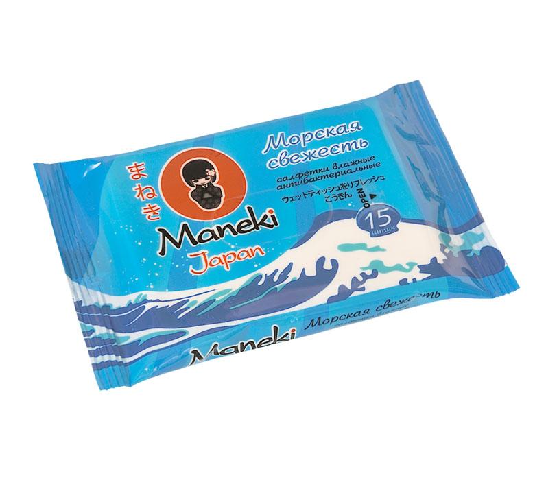 Maneki Салфетки влажные Kaiteki антибактериальные