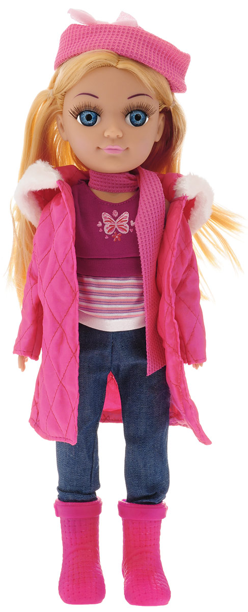 Карапуз Кукла озвученная Полина цвет одежды темно-розовый