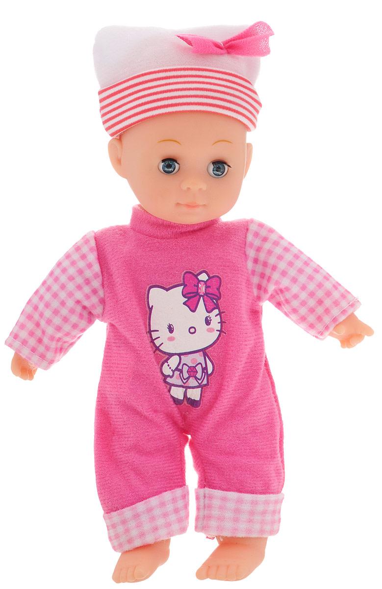 купить Карапуз Пупс озвученный Hello Kitty цвет одежды ярко-розовый онлайн