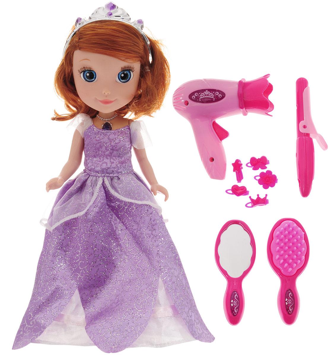 Карапуз Кукла озвученная Disney Принцесса София с аксессуарами куклы карапуз кукла disney принцесса софия