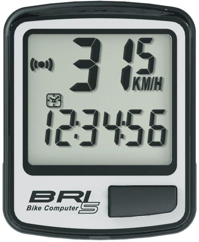 Велокомпьютер Echowell BRI-5, 5 функций, цвет: серыйBRI-5Проводной велокомпьютер Echowell BRI-5 с пятью функциями в стильном корпусе предназначен для использования при занятиях велоспортом, велотуризмом и просто катании на велосипеде. Это удобный и простой в использовании электронный прибор, предоставляющий велосипедисту всю необходимую информацию о поездке. Имеет отличную водо и пылезащиту.Велокомпьютер состоит из двух частей соединенных проводом - дисплея, внешне похожего на электронные часы и датчика скорости. Дисплей крепится на руле с возможностью мгновенно отсоединить его, когда нет желания оставлять на велосипеде без присмотра или под дождем. Магнитный датчик скорости (геркон) крепится рядом с колесом.Велокомпьютер определяет скорость движения с точностью до десятых долей, дистанцию - с точностью до 10 метров. На дисплее функции поочередно сменяют друг друга. Все операции и настройки выполняются одной кнопкой.Функции: - Скорость текущая- Дистанция поездки- Одометр- Часы- Скан (функция скан задействует режим показа всех функций на дисплее компьютера поочередно)Водо и пылезащита Питание: от литиевой батарейки типа CR2032 (входит в комплект)