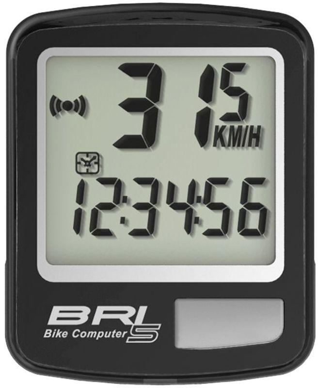 Велокомпьютер Echowell BRI-5, 5 функций, цвет: черный