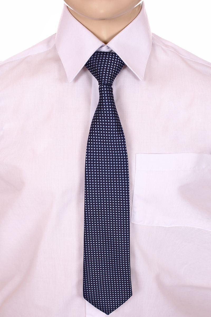 Галстук для мальчика Brostem, цвет: деним, белый. RMCAL11-11. Размер универсальныйRMCAL11-11Модный галстук для мальчика Brostem изготовлен из качественного полиэстера. Такой аксессуар придаст юному кавалеру солидности.