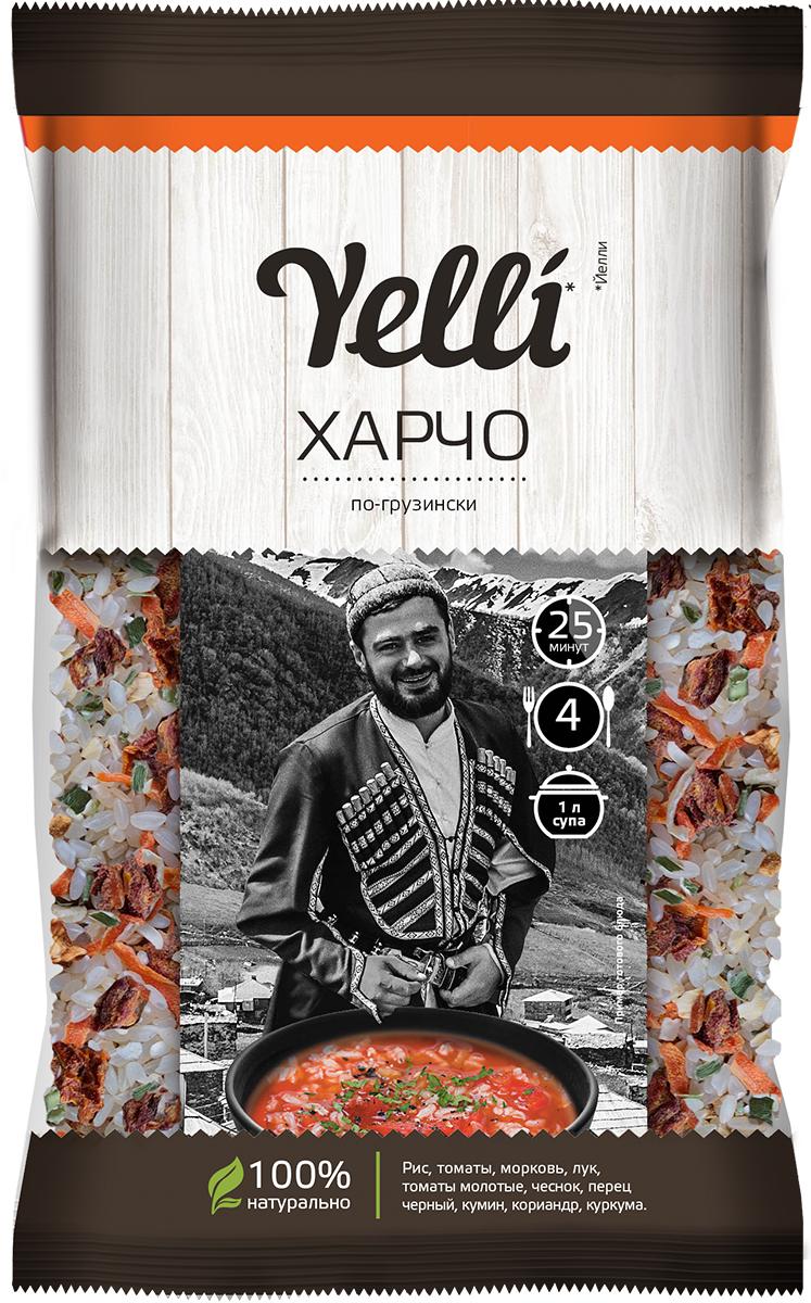 Yelli харчо по-грузински, 100 г суп yelli чечевичный масурдал 250г