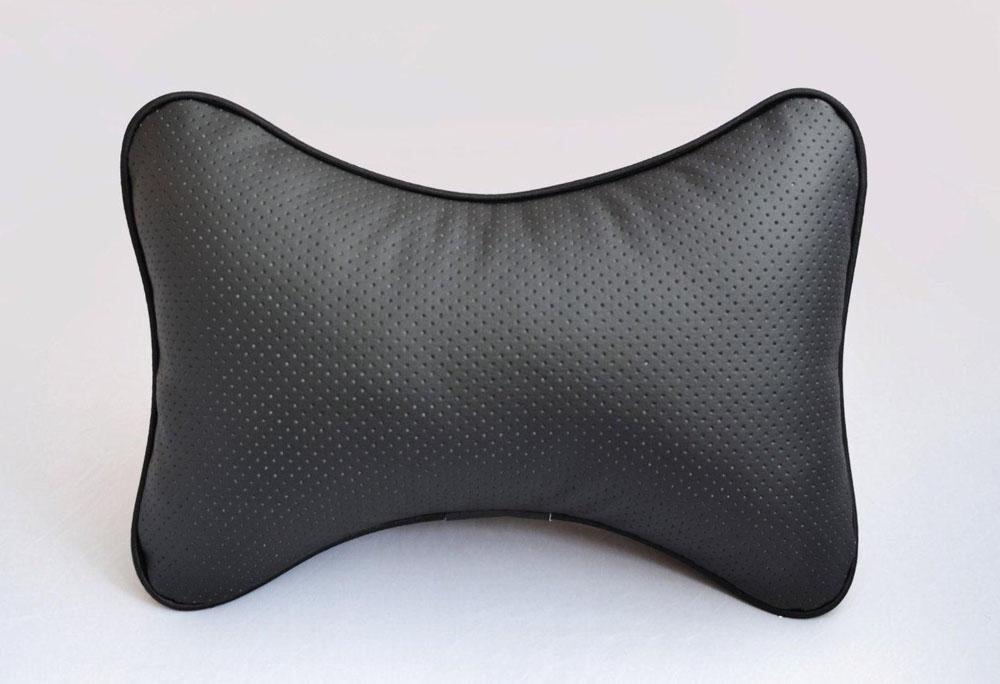 Подушка на подголовник Auto Premium, цвет: черный. 37301 подушка на подголовник auto premium цвет серый 37411