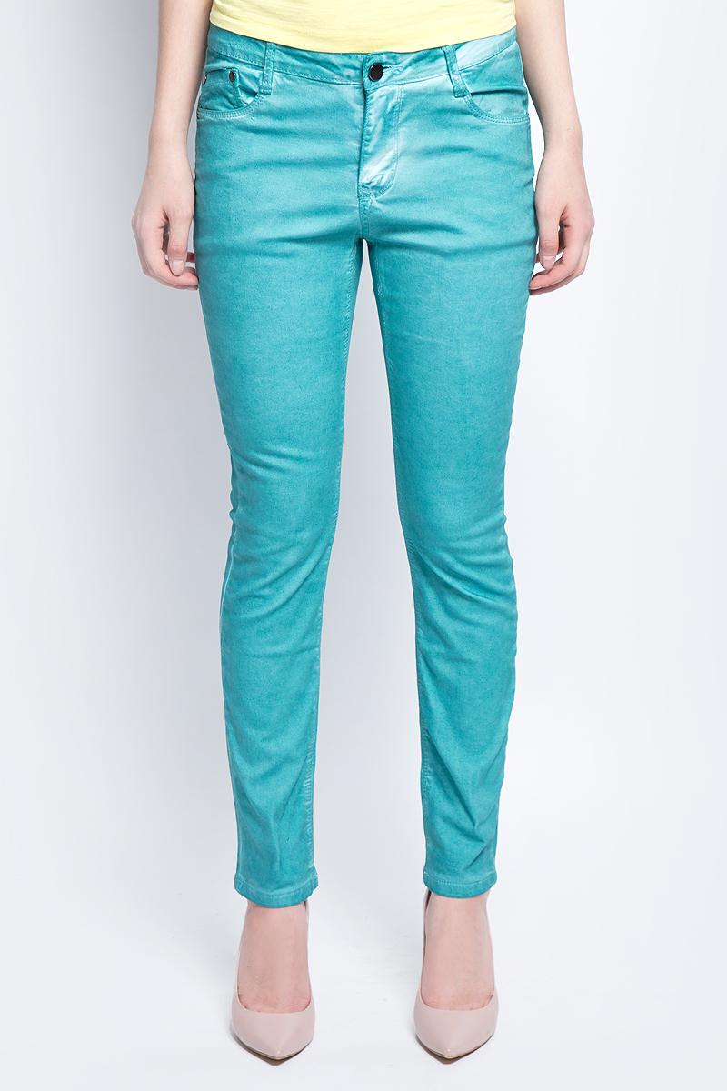 Джинсы женские Baon, цвет: голубой. B307010_Dark Lazure. Размер 27 (42) брюки женские baon цвет голубой b298028