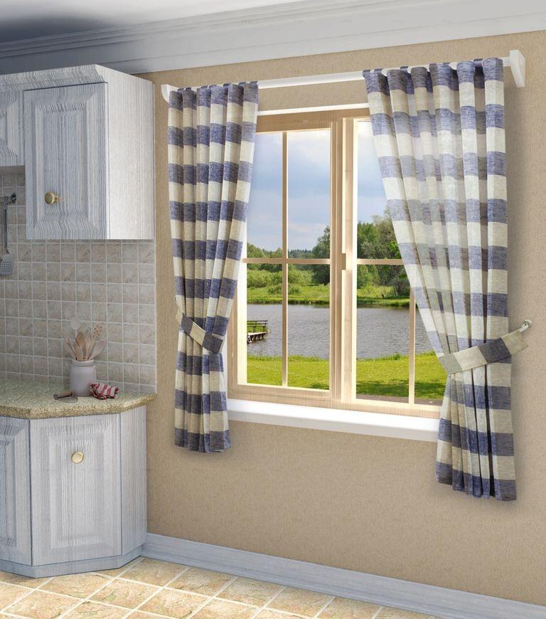 Комплект штор Sanpa Home Collection Карен, на ленте, цвет: голубой, высота 180 смHP50201/14/1E Карен голубой, , 145*180(2шт)+подхваКомплект штор Карен, выполненный из искусственного льна, великолепно украсит любое окно. Комплект состоит из двух штор и двух подхватов. Оригинальный рисунок и приятная цветовая гамма привлекут к себе внимание и органично впишутся в интерьер помещения. Этот комплект будет долгое время радовать вас и вашу семью!В комплект входит: Штора: 2 шт. Размер (Ш х В): 145 см х 180 см.Подхват: 2 шт.