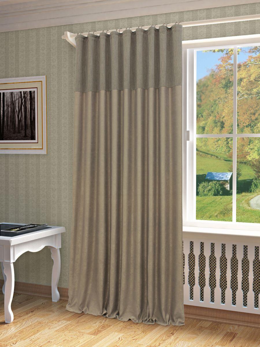 Штора Sanpa Home Collection Эльза, на ленте, цвет: серый, высота 260 смHP01258/116/1E Эльза серый, , 200*260-1шт+подхватШтора Эльза в однотонном исполнении изготовлена из высококачественных материалов.Шторы - это немаловажный, но всё же аксессуар в вашем доме, поэтому их стиль нужно подбирать, исходя из дизайна в вашей квартире. Например, тяжелые и выполненные из дорогих тканей шторы прекрасно впишутся в классическую гостиную. А вот для современных стилей могут быть использованы шторы с более простым оформлением. Крепление к карнизу осуществляется при помощи вшитой шторной ленты.