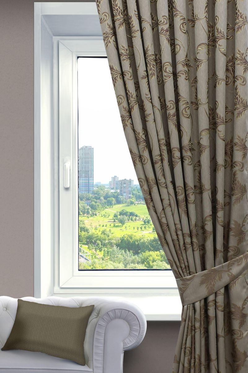 Комплект штор Sanpa Home Collection Дебора, на ленте, цвет: пыльная роза, высота 260 смКШДЕБОРА(1001)пыльная роза, , 200*260см-2шт+подхватыКомплект штор Дебора, выполненный из жаккарда, великолепно украсит любое окно. Комплект состоит из двух штор и двух подхватов. Оригинальный рисунок и приятная цветовая гамма привлекут к себе внимание и органично впишутся в интерьер помещения. Этот комплект будет долгое время радовать вас и вашу семью!В комплект входит: Штора: 2 шт. Размер (Ш х В): 200 см х 260 см.Подхват: 2 шт.