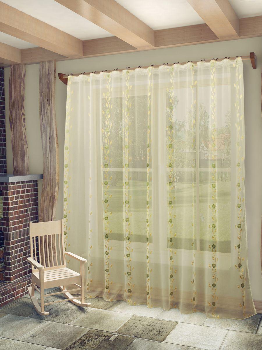 Тюль Sanpa Home Collection Розалия, на ленте, цвет: бежево-золотистый, высота 260 смHP70055/16/1E Розалия беж-золотист, , 300*260 смТюль Розалия нежного цвета изготовлена из высококачественных материалов.Воздушная ткань привлечет к себе внимание и идеально оформит интерьер любого помещения.Тюль сделает ваш интерьер более нежным, воздушным и невесомым. Можно драпировать окно только тюлью или только портьерами, но вместе они создают идеальную композицию. Мы рекомендуем под однотонные портьеры нейтральных тонов подбирать сложносочиненную тюль, с изысканной вышивкой и орнаментом, а под портьеры с рисунком или ярких тонов - выбирать тюль с минималистичным рисунком или вообще без него. Крепление к карнизу осуществляется при помощи вшитой шторной ленты.