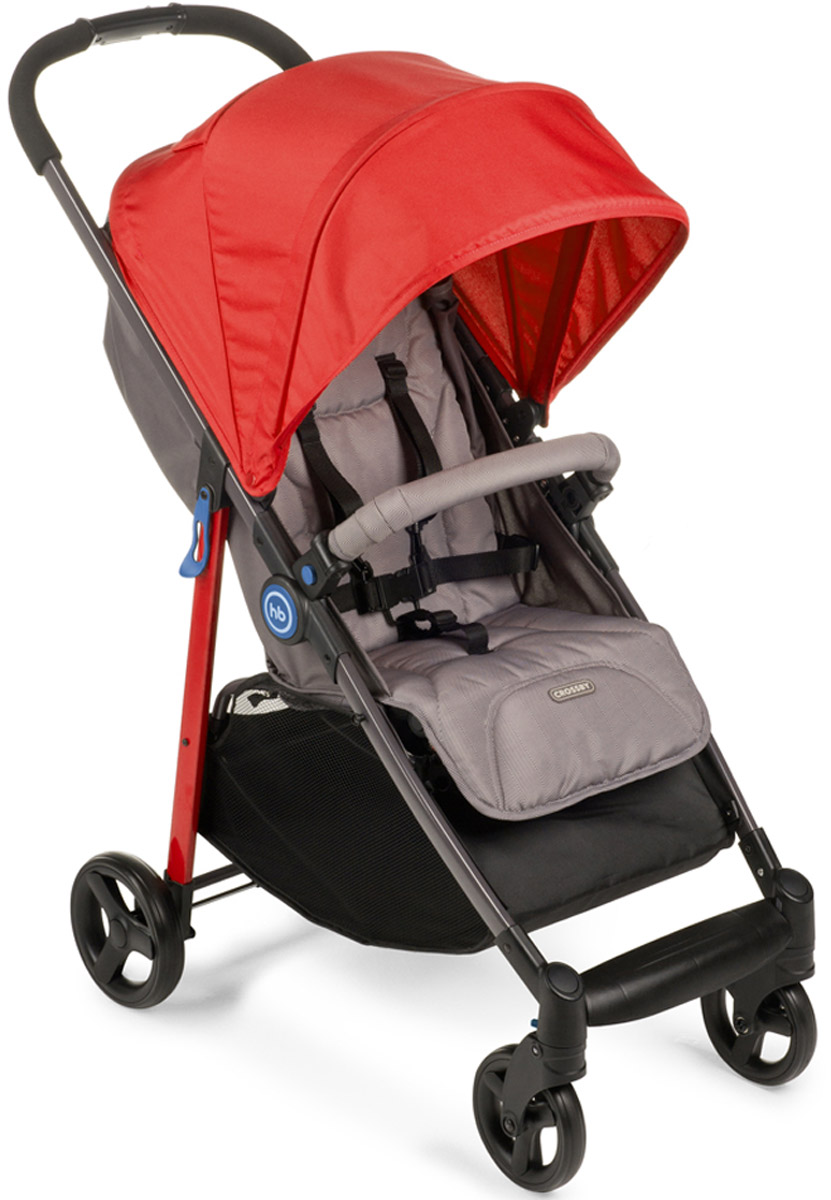 Happy Baby Коляска прогулочная Crossby цвет красный - Коляски и аксессуары