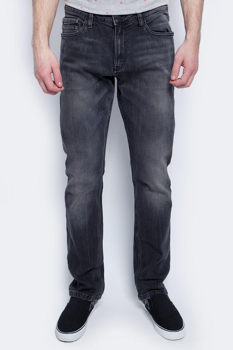 Купить Джинсы мужские Calvin Klein Jeans, цвет: черный. J30J304916. Размер 32-34 (48/50-34)