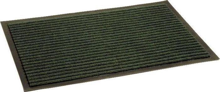 Коврик придверный InLoran Стандарт, влаговпитывающий, ребристый, цвет: зеленый, 50 х 80 см10-581Коврик придверный InLoran выполнен из винила и полиамида. Изделие имеет иглопробивной ворс, который эффективно удерживает грязь и влагу (на 1 квадратный метр до 5 кг). Такой коврик надежно защитит помещение от уличной пыли и грязи. Легко чистится и моется.