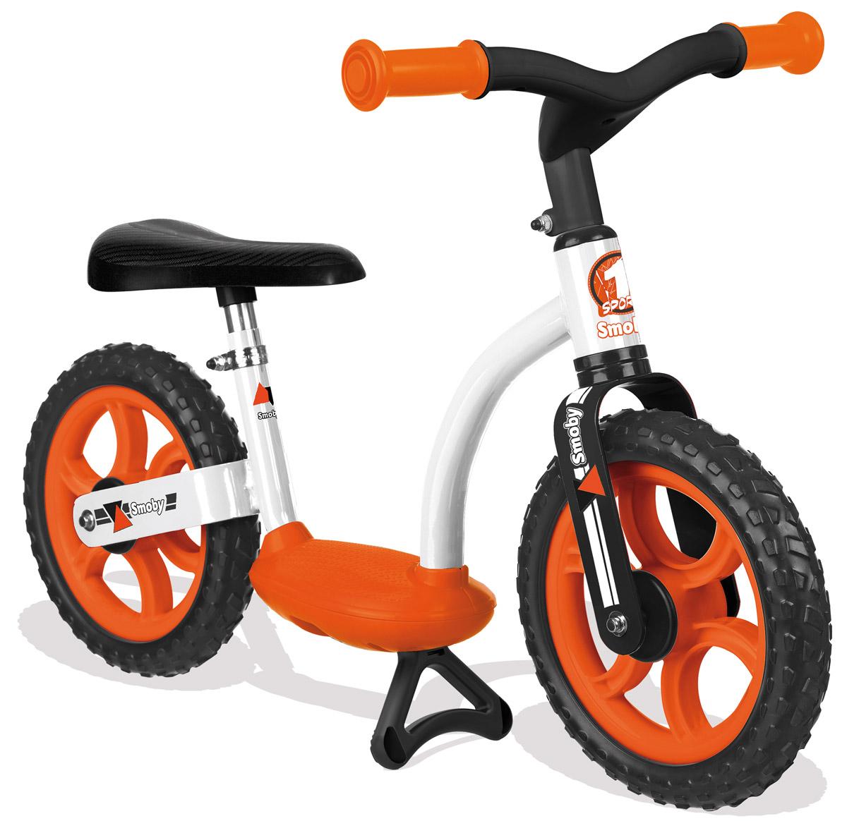 Smoby Беговел детский цвет белый оранжевый zycom беговел детский zbike цвет белый синий