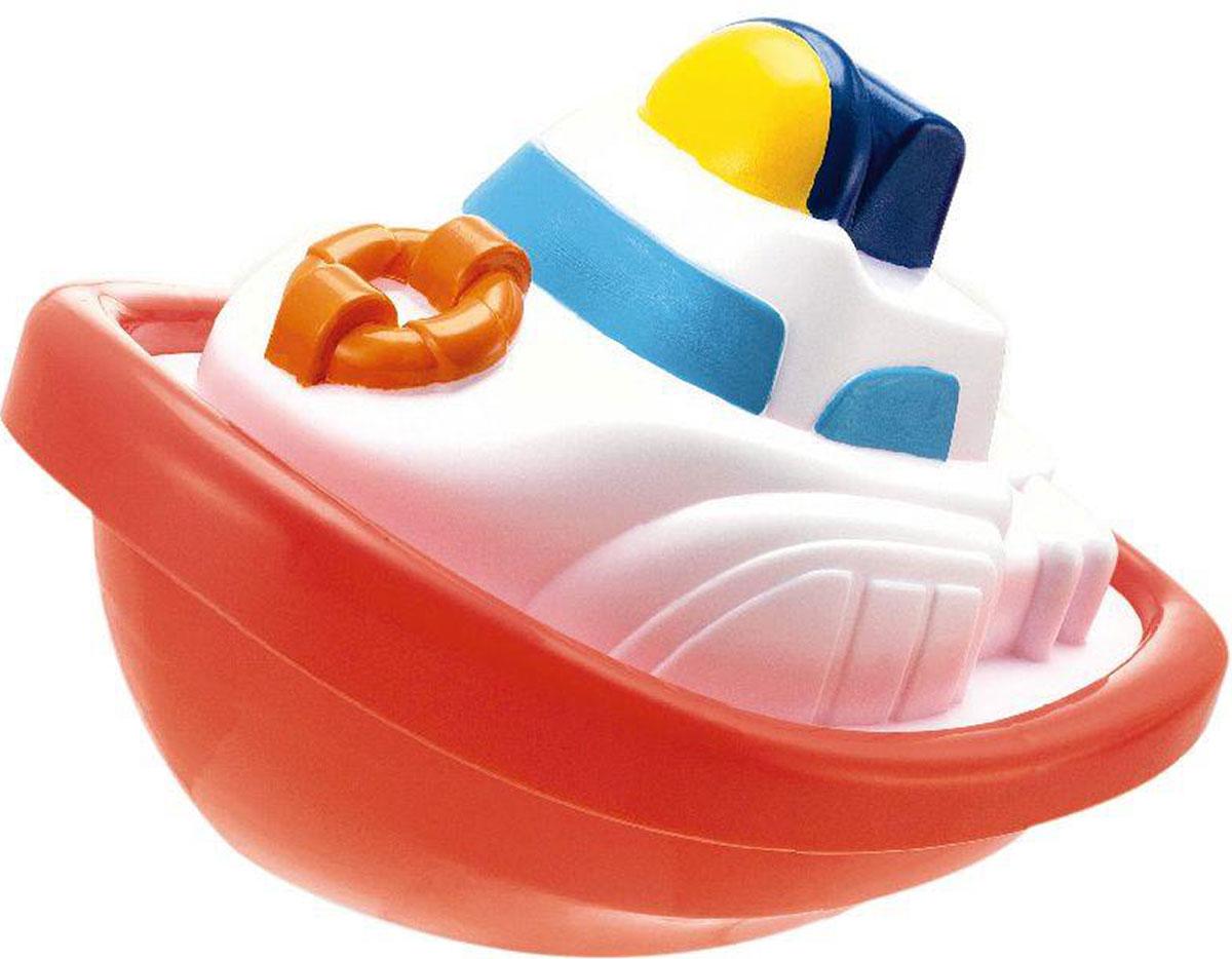 Keenway Игрушка для ванной Лодочка цвет белый красный