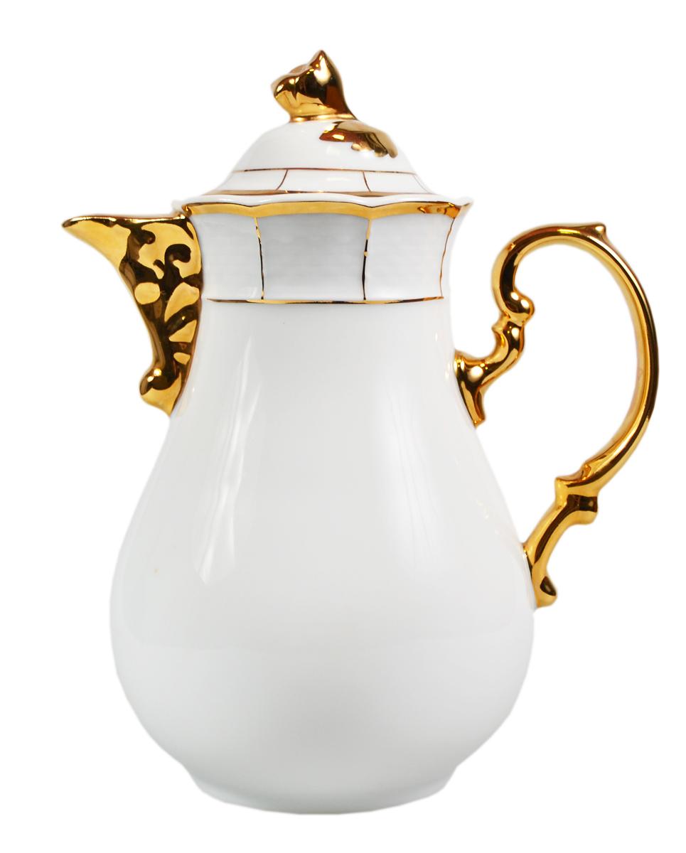 Чайник кофейник Thun Менуэт. Фарфор, золочение. Богемия, 1918-1934 гг. volbeat thun