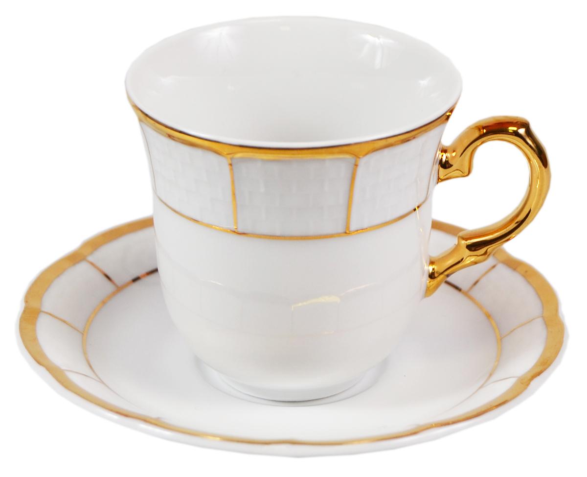 Кофейная пара Thun Менуэт. Фарфор, золочение. Богемия, 1918-1934 гг. volbeat thun
