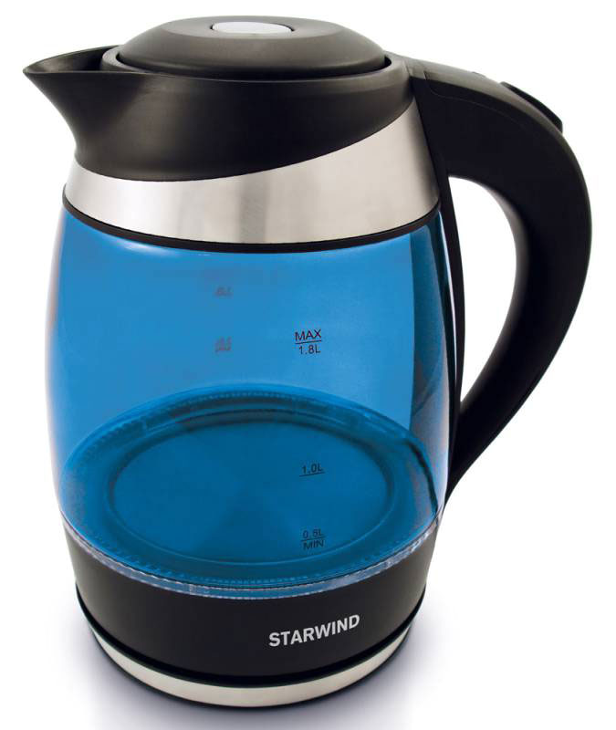 Starwind SKG2216, Blue Black чайник электрический starwind skg2216 blue black