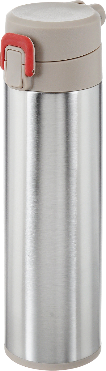 Термос Tescoma Constant Mocca, с замком, 0,5 л. 318581318581Спортивный термос Tescoma Constant Mocca сохранит напитки горячими или холодными.Двойная колба из нержавеющей стали сохраняет и поддерживаетпервоначальную температуру напитка, поэтому вы сможетенасладиться теплым чаем или любимым прохладительнымнапитком. Термос оснащен крышкой с кнопкой и замком, предохраняющим от преднамеренного открытия во время занятий спортом или путешествий.Объем термоса: 0,5 л. Диаметр термоса (по верхнему краю): 5 см. Высота термоса (с учетом крышки): 24,5 см.