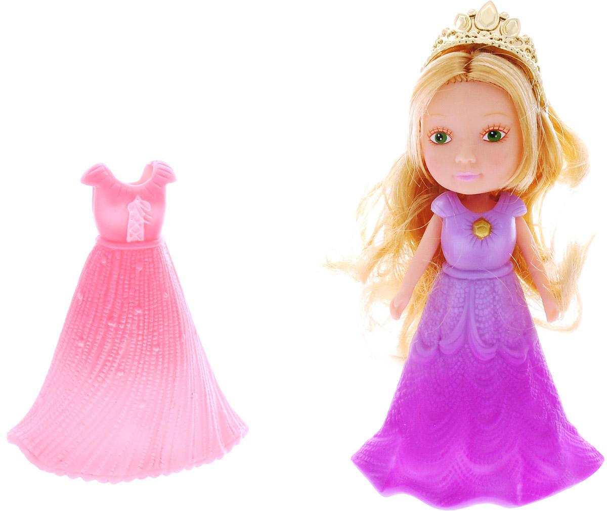 Veld-Co Мини-кукла Принцесса цвет сиреневый розовый