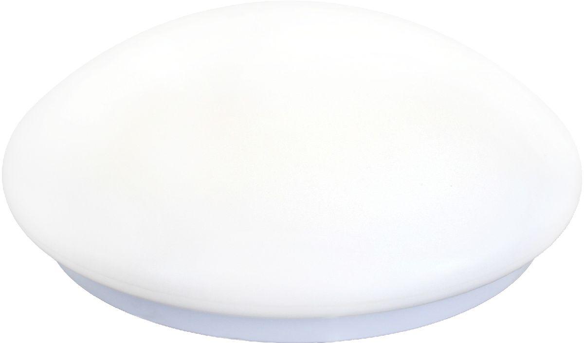 Светильник настенно-потолочный Camelion LBS-0102, LED, 18W, 4500K. 1267412674Настенно-потолочный светильник Camelion LBS-0102 - светодиодный осветительный прибор для накладного монтажа, имеющий плоскую форму плафона, за счет чего не уменьшается объем помещения, даже если в нем невысокие потолки. Данная модель мгновенно включается, не нагревается, экономично расходует электроэнергию, служит очень долгий срок, излучает яркий световой поток, который не пульсирует.Диаметр: 33 смВысота: 8 см Цветность: естественный белый (3300 - 5000 К) Вид крепления: накладнойОсновной цвет: белыйПоверхность плафона/арматуры: глянцеваяЦвет плафона/арматуры: белыйЛампа в комплекте: естьНапряжение питания: 220 ВЗащита от пыли и влаги: IP30.
