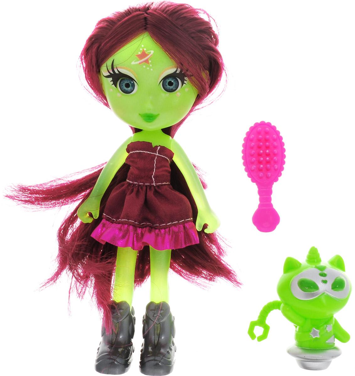 Veld-Co Мини-кукла Инопланетянка Jupiter veld co мини кукла mona с черепахой