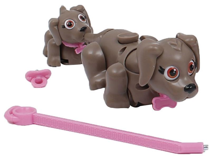 Pet Club Parade Набор фигурок Домашние питомцы Собаки цвет серо-коричневый 2 шт pet parade кошки купить