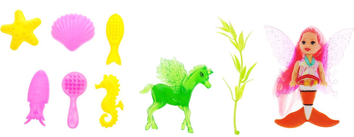 куклы veld co лошадь с куклой Veld-Co Игровой набор с мини-куклой Butterfly Faerie цвет волос розовый