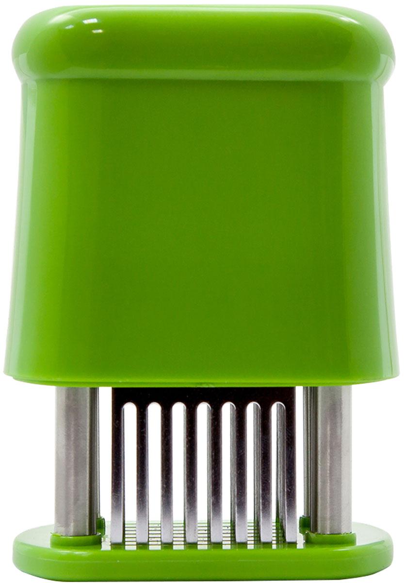 Тендерайзер для мяса  Borner , прямоугольный, цвет: салатовый - Кухонные принадлежности