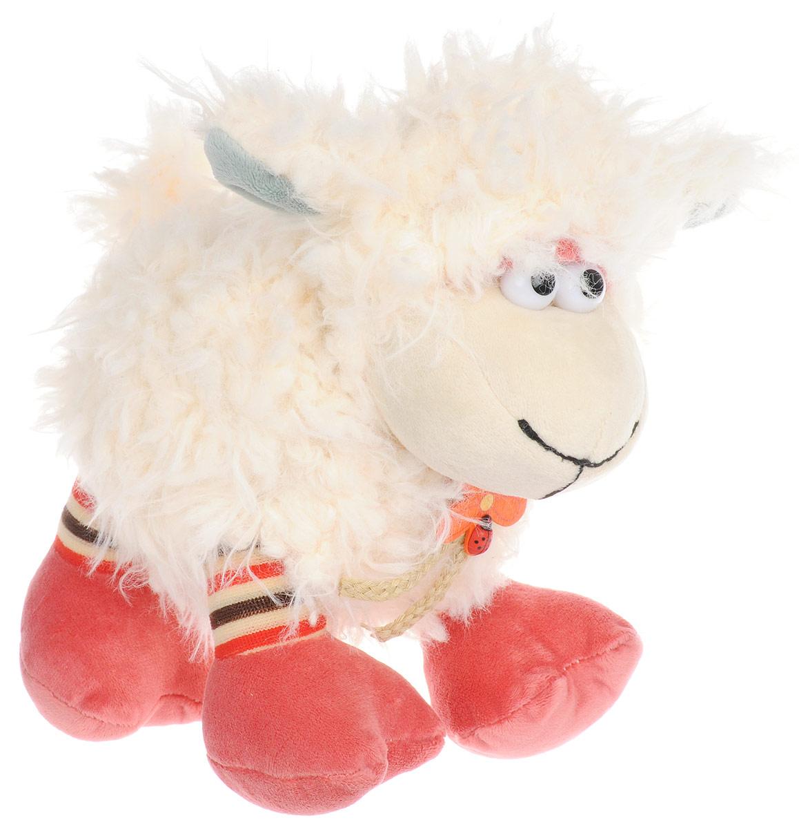 Jackie Chinoco Мягкая игрушка Овечка 21 см малышарики мягкая игрушка собака бассет хаунд 23 см