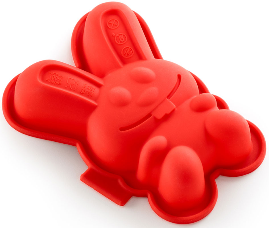 Форма для кекса Lekue Зайчик, цвет: красный, 2 шт0210102R01M017Форма для кекса Lekue Зайчик изготовлена из чистого силикона, абсолютно инертного медицинского материала. Силикон не вступает ни в какое химическое воздействие с окружающими материалами. Следовательно, ваша пища, изготовленная в форме из силикона, никогда не будет содержать никаких посторонних примесей, что часто случается при приготовлении пищи в посуде из металла. Изделия из силикона выдерживают большие перепады температур от -40 до +250 градусов. Как выбрать форму для выпечки – статья на OZON Гид.