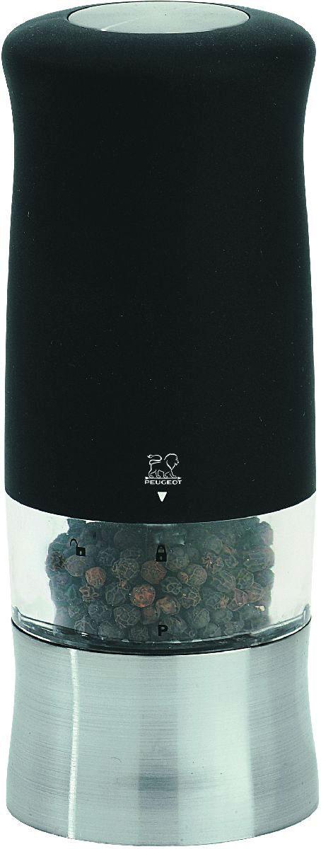 Мельница для перца Peugeot Zephir, электрическая, цвет: черный, высота 14 см фильтр filtero fth 08 sam hepa для пылесосов samsung