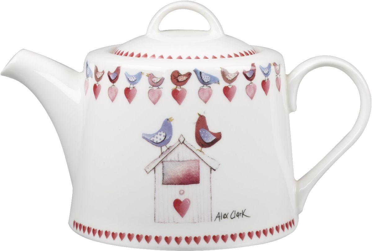 Чайник заварочный Churchill, 830 млACMY00121Чайник заварочный Churchill выполнен из высококачественного фарфора и украшен оригинальным изображением. Такой чайник отлично дополнит сервировку стола к чаепитию. Коллекция Птички - уникальное сочетание живой природы и прекрасные воспоминания из детства. Легкий и простой дизайн с пастельными красками идеально подойдет для любой кухни.
